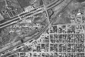 تفسیر عکس های هوایی و انجام جانمایی پلاک ثبتی