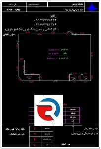 تهیه نقشه تفکیک آپارتمان برای مجمتع های مسکونی